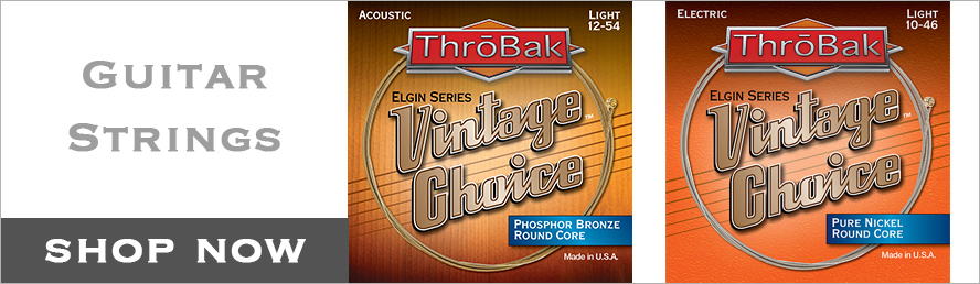 ThroBak guitar strings button.