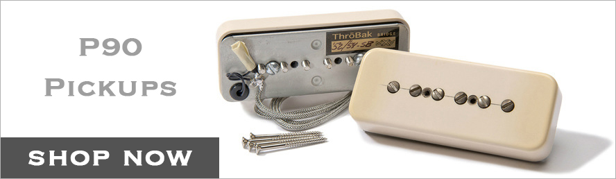 ThroBak P90 pickup button.