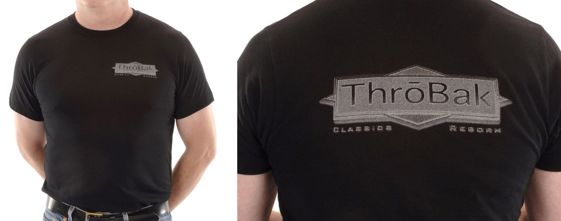 ThroBak T-shirt photos.