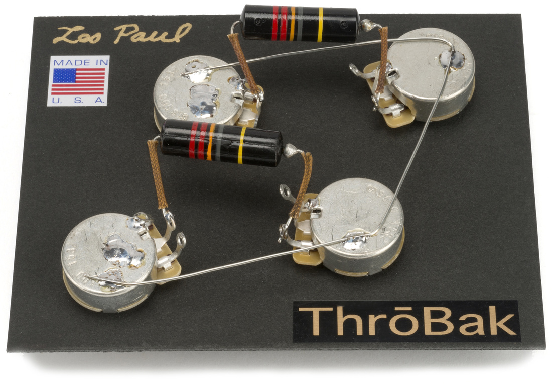 [SCHEMATICS_4UK]  Les Paul Wiring Harness: ThroBak 50's style Wiring Kit for Les Paul  electric guitars. - ThroBak | Details About Wiring Harness For Les Paul Cts Pots |  | ThroBak