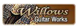 Willows Guitar Works graphic.