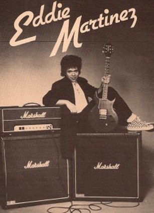 Eddie Martinez Marshall amp photo.