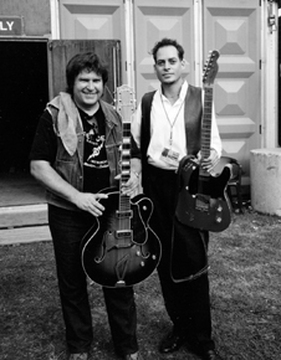 Danny Gatton and Alex Schultz photo.