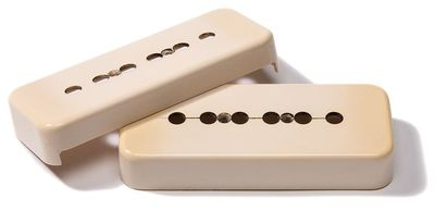 Soapbar P90 pickup covers photo.