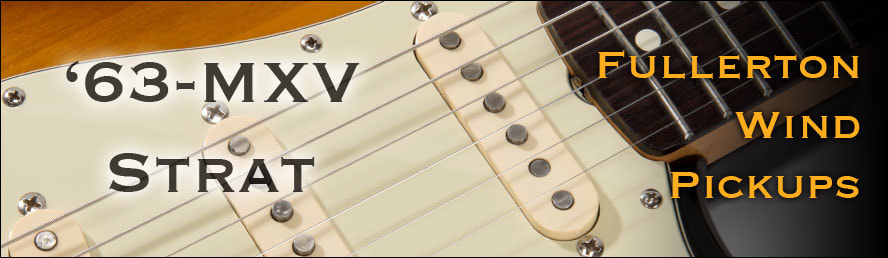 '63 Strat Pickup Button Graphic