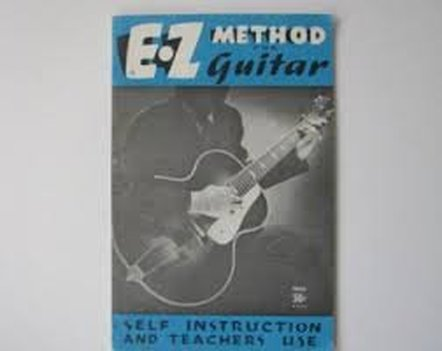 Photo of EZ Guitar instructional book.